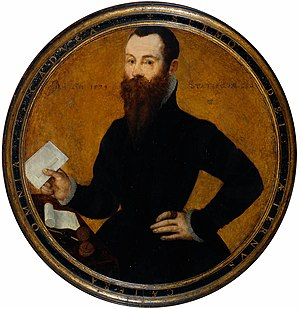 Cornelis Ketel - Adam Wachendorff, a merchant of the Steelyard, London, 1574