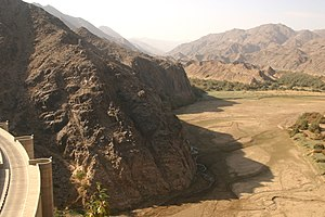 Najran Region - Image: Wadi najran dam