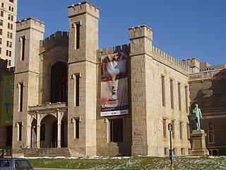 Art museum in Hartford, Connecticut