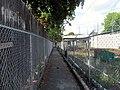 Walkway from Cedar Grove station to Hillsdale Street, August 2016.JPG
