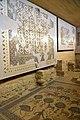 Wall and floor mosaics inside the Memorial Church of Moses, Mount Nebo, Jordan.jpg