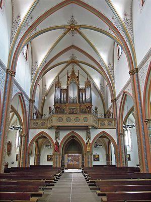 St. Joseph Oratory - Wallerfangen, Church St. Katharina