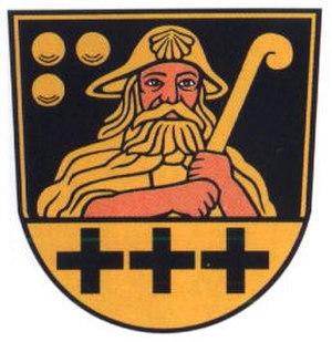 Pilgrim's hat - Image: Wappen Gossel