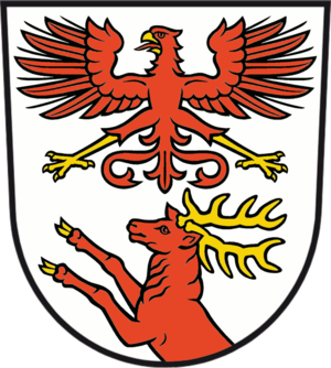 Müllrose - Image: Wappen Muellrose