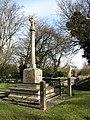 War Memorial beside Metton Road - geograph.org.uk - 715118.jpg