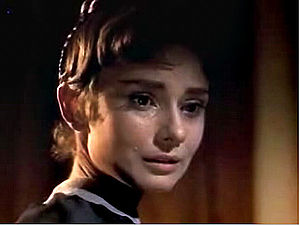 Natasha Rostova - Audrey Hepburn plays Natasha Rostova in the 1956 film adaptation