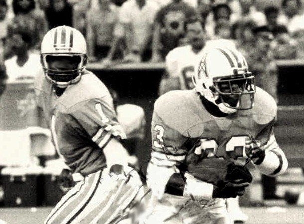 Warren Moon and Mike Rozier 1987