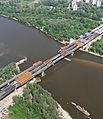 Warszawa, budowa Mostu Północnego 02.jpg