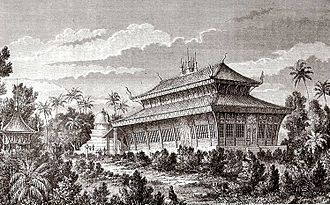 Lan Xang - Wat Visoun, as seen by Louis Delaporte c.1867