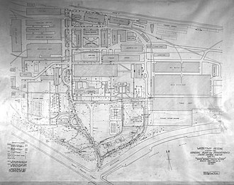 Watertown Arsenal - General plan, 1919.
