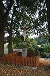 Wayside cross in Svařenov, Velké Meziříčí, Žďár nad Sázavou District.JPG