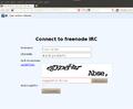 WebChatFreenodeConnectionScreenFilledupExample.png
