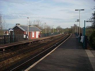 Weeton railway station - Image: Weeton 888