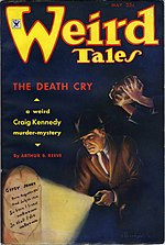 Weird Tales cover image for May 1935