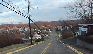 Weirton, West Virginia - Weirton's Marland Heights neighborhood.