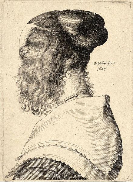 File:Wenceslas Hollar - The same woman, back view.jpg