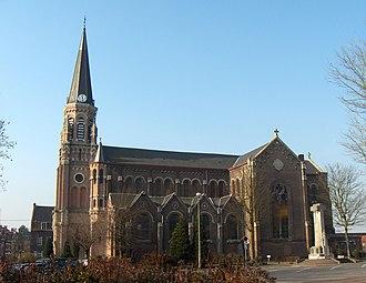 Wervicq-Sud - Image: Wervicq Sud Eglise
