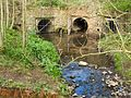 Wesley Brook joins with other drainage - geograph.org.uk - 1248643.jpg