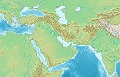 Kaaba est situé en Asie occidentale et centrale