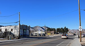 West Pleasant View, Colorado - South Golden Road in West Pleasant View.
