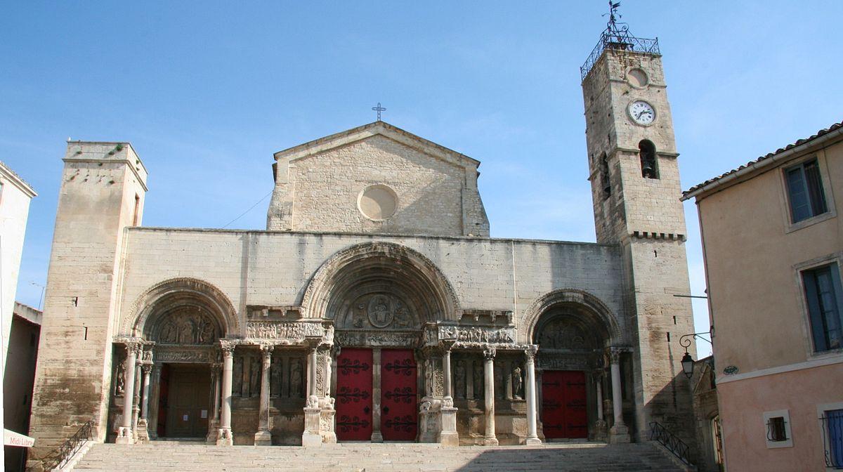 église saint-gilles gr653 via tolosana