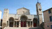 West church portal in St-Gilles-du-Gard
