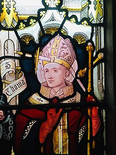 Thomas Becket 12th-century Archbishop of Canterbury, Chancellor of England, and saint