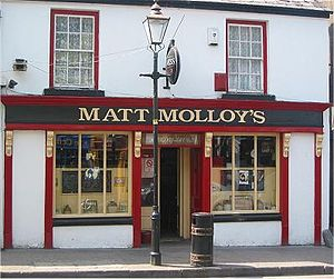 Matt Molloy - Matt Molloy's Pub in Bridge Street, Westport