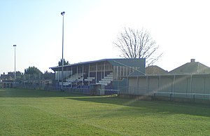 Cowes Sports F.C. - Westwood park, home of Cowes Sports