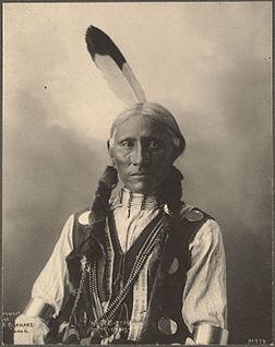 White Buffalo, chef cheyenne.Photographié par Frank Rinehart en 1898.