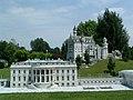 White House, Neuschwanstein models-Minimundus.JPG