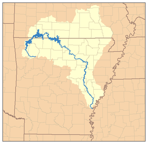 White River (Arkansas–Missouri) - Image: White River AR