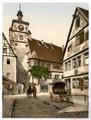 White Tower (i.e. Weisser Turm), Rothenburg (i.e. ob der Tauber), Bavaria, Germany-LCCN2002696180.tif