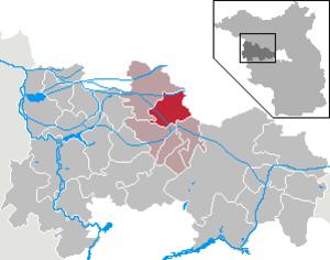 Wiesenaue - Image: Wiesenaue in HVL