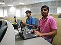 WikidataWK17 - Pinaki Biswas and Mourya Biswas 01.jpg