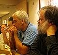 Wikimania2007 A ponderous meal.jpg