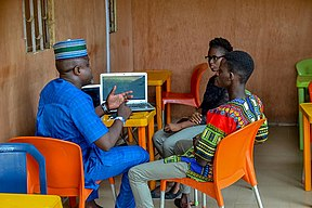 Wikimedia User Group Nigeria ( October Meetup) 04.jpg