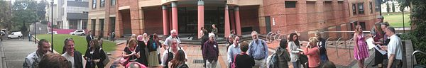 Wikimedia in Higher Education University of Sydney 2013 Panorama.jpg