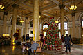 Willard InterContinental Washington Hotel Lobby, Christmas 2014.jpg