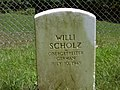 Willi Scholz Headstone.jpg