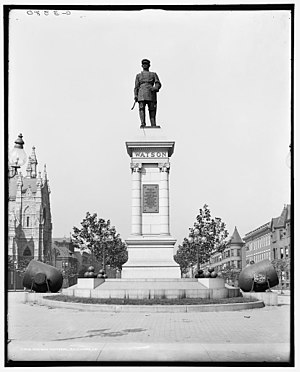 William H. Watson - Image: William H. Watson memorial Baltimore, Maryland