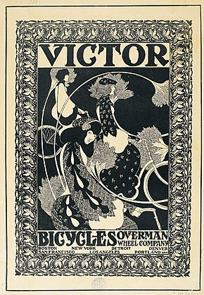 William Henry Bradley- Victor Bicycles.jpg