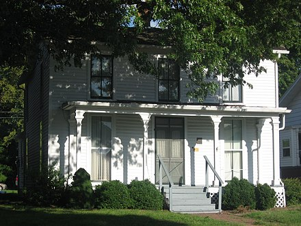 Bryan's birthplace in Salem, Illinois William Jennings Bryan Boyhood Home.jpg