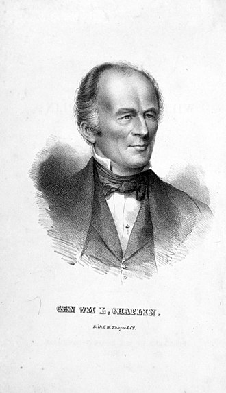 William L. Chaplin - William Lawrence Chaplin, c. 1851