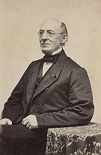 William Lloyd Garrison American journalist and abolitionist