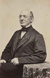 William Lloyd Garrison, abolitionist, journalist, and editor of The Liberator LCCN2017660623 (cropped).jpg
