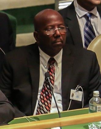 Prime Minister of Sint Maarten - William Marlin