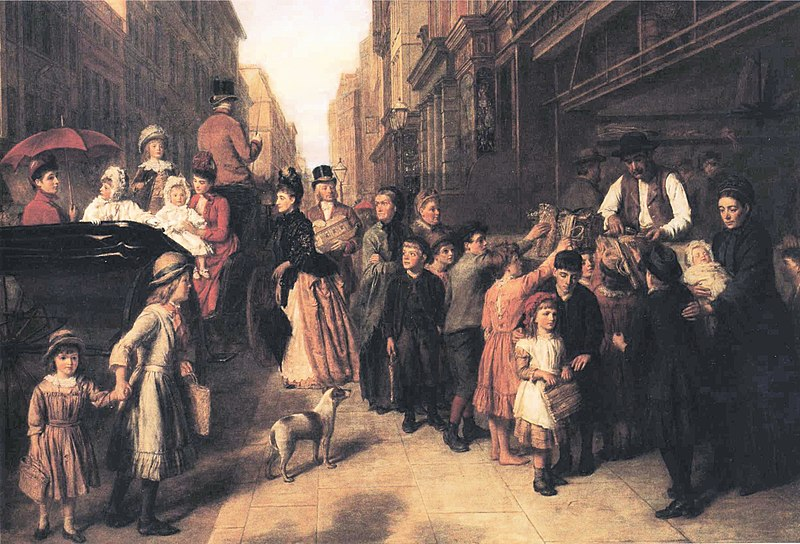 File:William Powell Frith - Poverty and Wealth.JPG