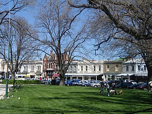 Williamstown, Victoria - Nelson Place, in the restaurant precinct