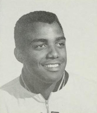 Willie Naulls - Naulls from 1956 UCLA yearbook